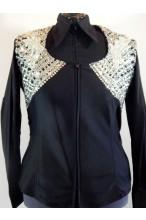 MKC  Custom Vest - Black & Silver