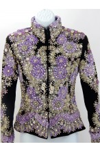 MKC Horse Show Jacket - Purple Floral