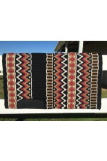 Saddle Pad: Black, Fawn, Rapture Rose and Cream