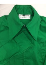 Miss Karla's Closet Fitted Show Shirt - Kelly Green