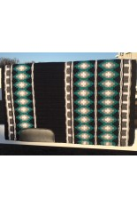 Saddle Pad: Black, Teal, Charcoal, Grey and White