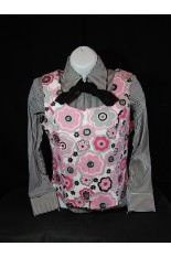 MKC YOUTH Horse Show Vest - Pink, Black, White, Gray Floral
