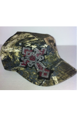 Camo Cross Cadet Cap